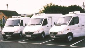 A fleet of chiller vans for Daily Fish 300x170